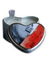 Earthly Body Hjerte Massagelys - Watermelon 175ml