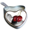 Earthly Body Hjerte Massagelys - Cherry 175ml